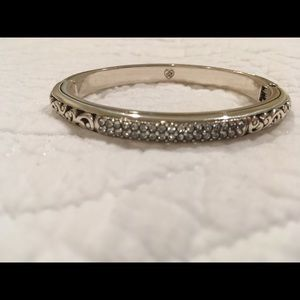 Brighton slim bangle bracelet with crystal accent